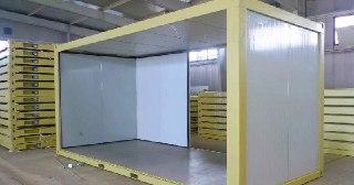 Сэндвич-панели для холодильных камер под ключ в Красноярске цена от 1331 руб