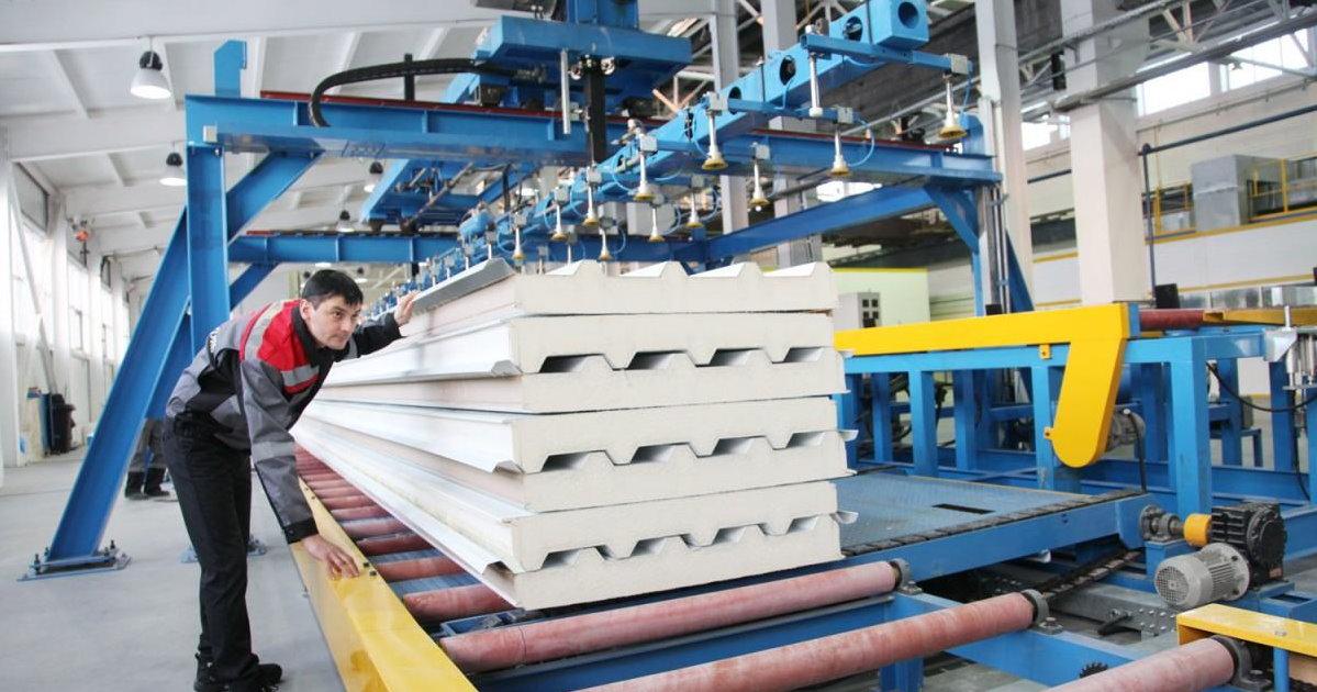 Производство сэндвич панелей Красноярск цена от 1229 руб.