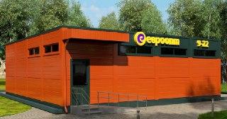 Магазин из сэндвич панелей Красноярск от 71645 руб.