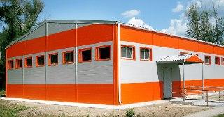 Здания из сэндвич панелей Красноярск цена от 125891 руб.